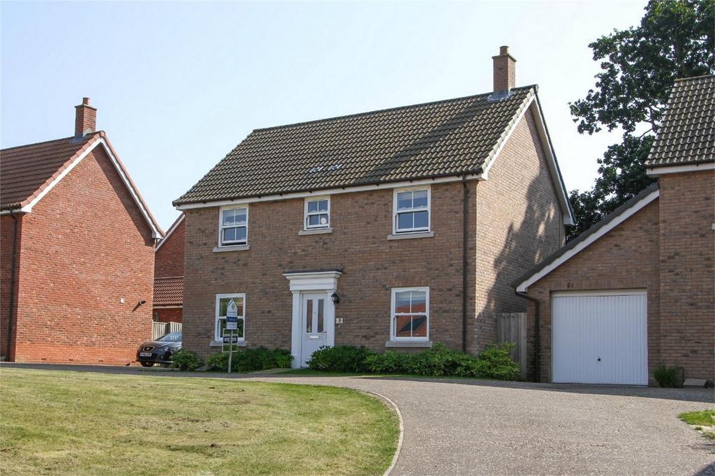 4 Bedrooms Detached House for sale in Exige Way, Wymondham, Norfolk