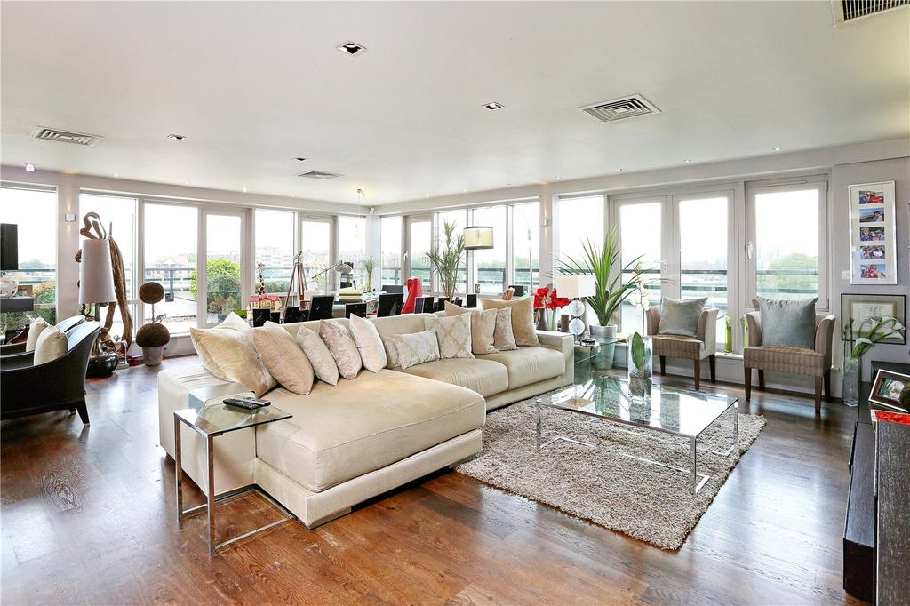 4 Bedrooms Penthouse Flat for sale in Putney Wharf, 25 Brewhouse Lane, Putney, London, SW15