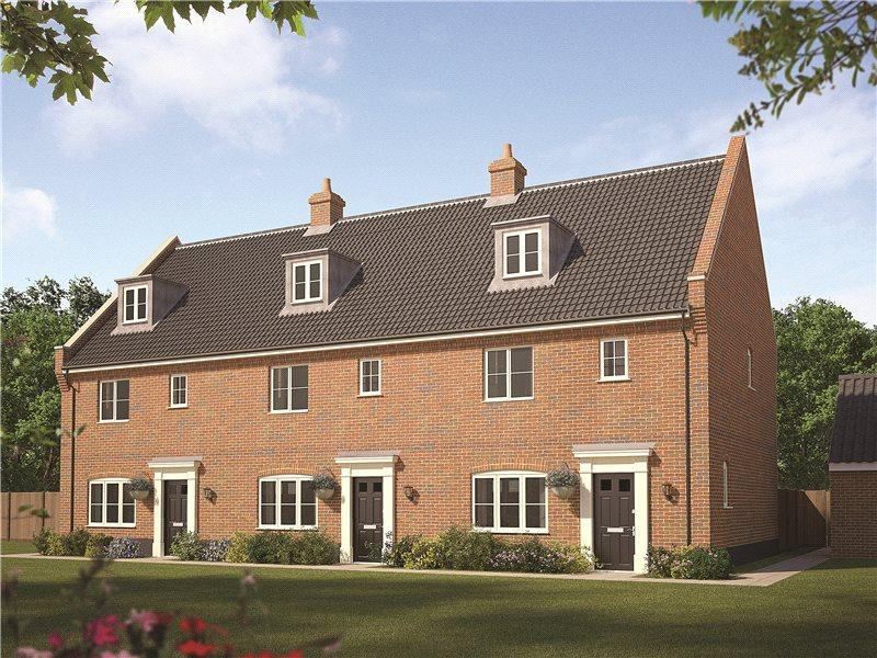 3 Bedrooms Semi Detached House for sale in Plot 85 Staithe Place, Fakenham Road, Wells-next-the-Sea, Norfolk, NR23
