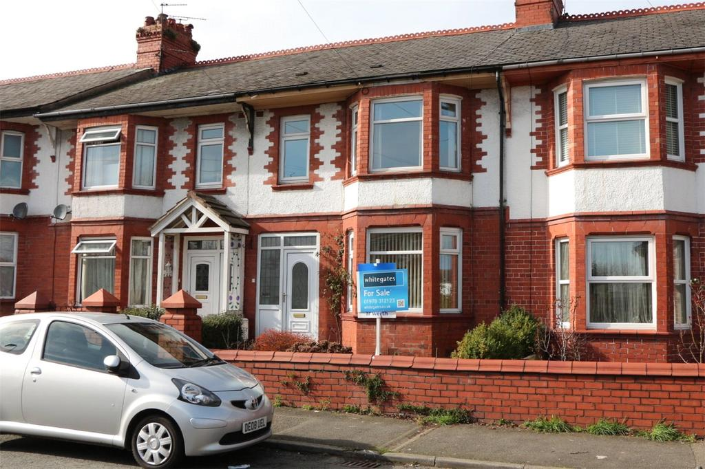 3 Bedrooms Terraced House for sale in Whitegate Road, Wrexham, LL13