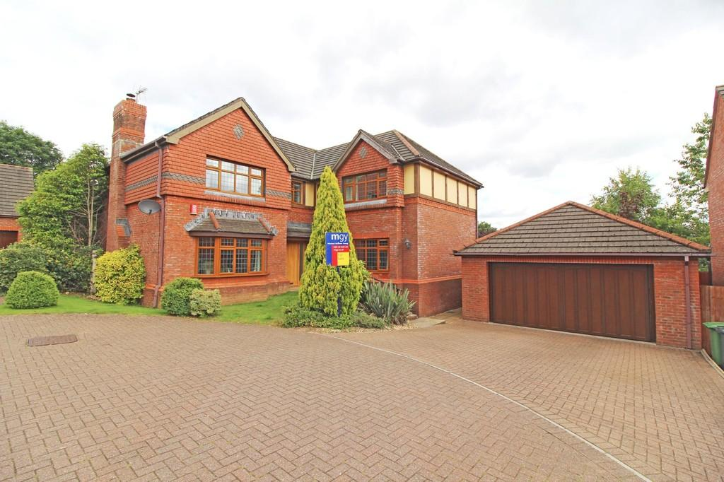 5 Bedrooms Detached House for sale in Pilgrim Close, Radyr