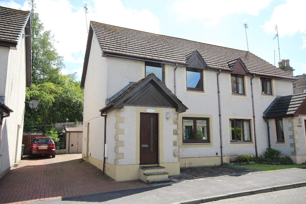 3 Bedrooms Semi Detached House for sale in Main Street, Glenfarg , Perthshire, PH2 9NY