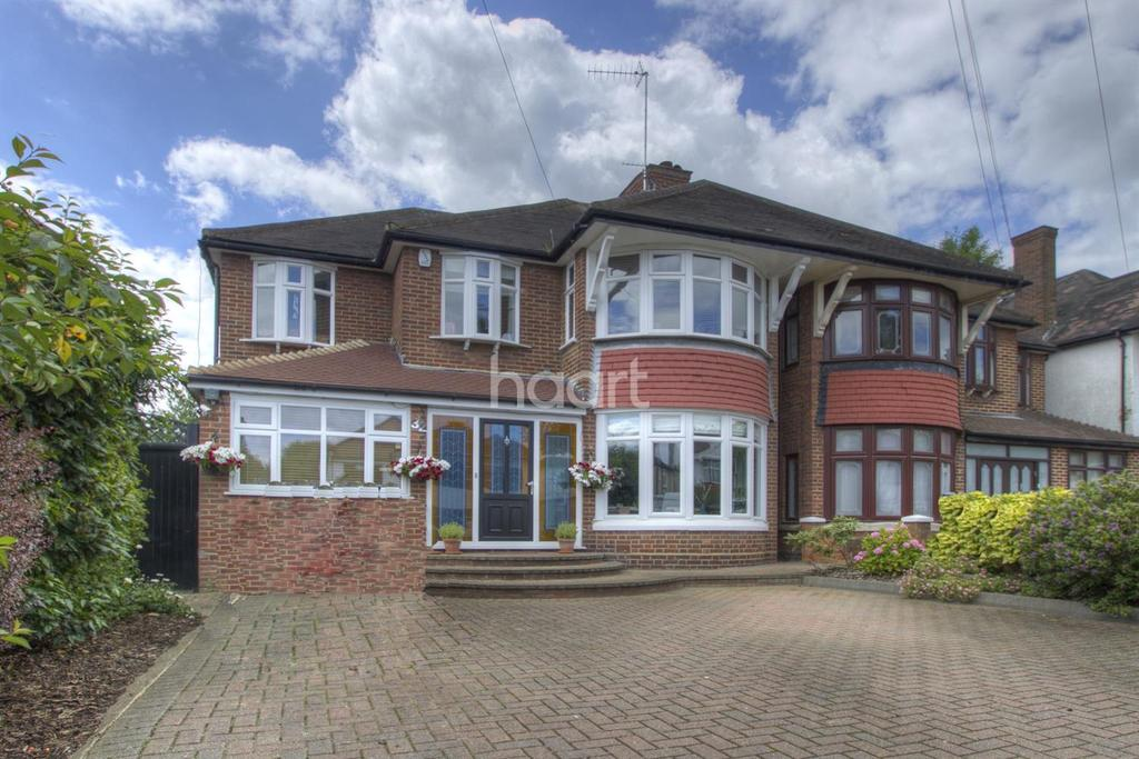 4 Bedrooms Semi Detached House for sale in Church Crescent, Whetstone, N20