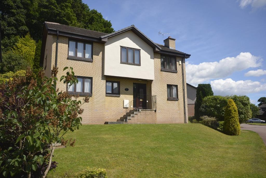 4 Bedrooms Detached House for sale in Laurelhill Gardens, Laurelhill, Stirling, Stirling, FK8 2PT