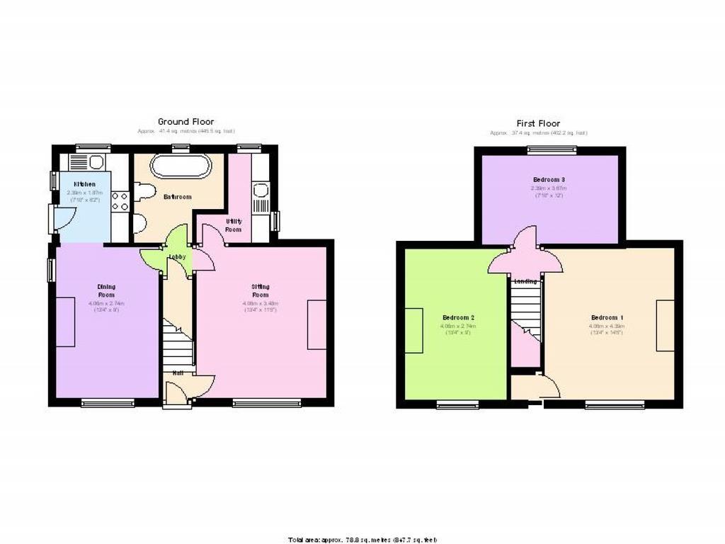 Floorplan: Current floorplan