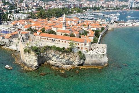House  - Mediaeval Castle Citadela, Budva, Montenegro
