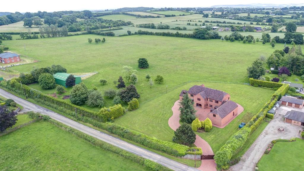 4 Bedrooms Detached House for sale in Litmarsh, Marden, Herefordshire