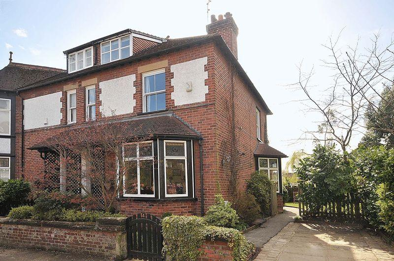 4 Bedrooms Semi Detached House for sale in Cranford Avenue, Knutsford