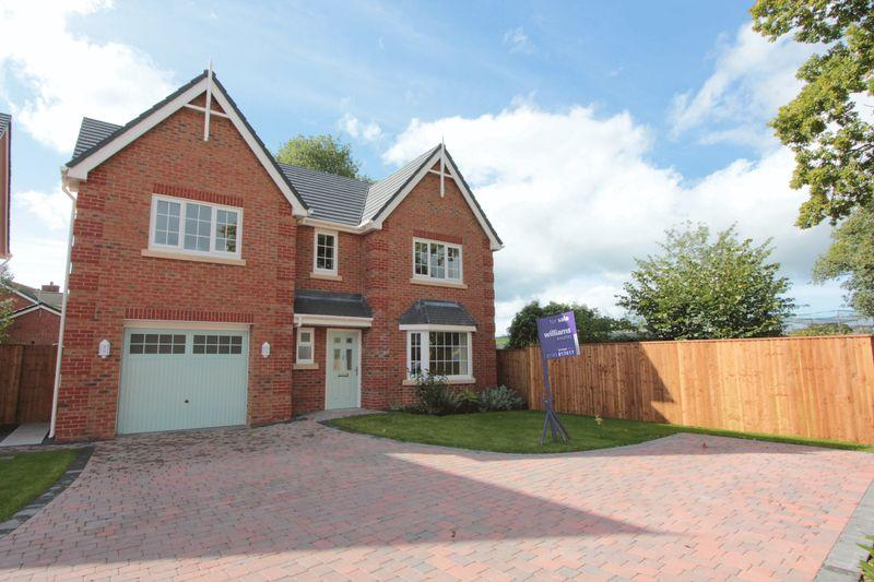 4 Bedrooms Detached House for sale in Plot 10, Dol Hyfryd, Ruthin Road, Denbigh