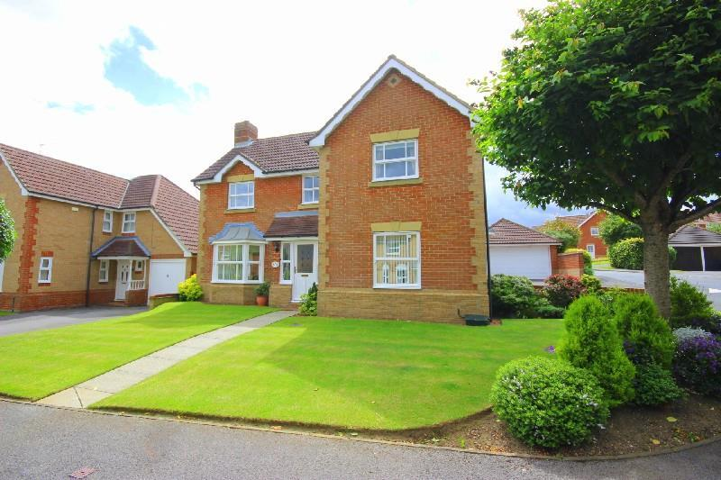 4 Bedrooms Detached House for sale in Gill Croft, Chester Le Street