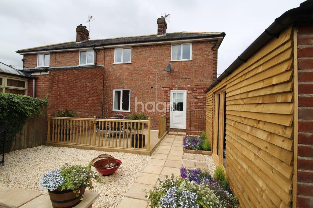 3 Bedrooms Semi Detached House for sale in Grantham Road, Bracebridge Heath, Lincoln, LN4