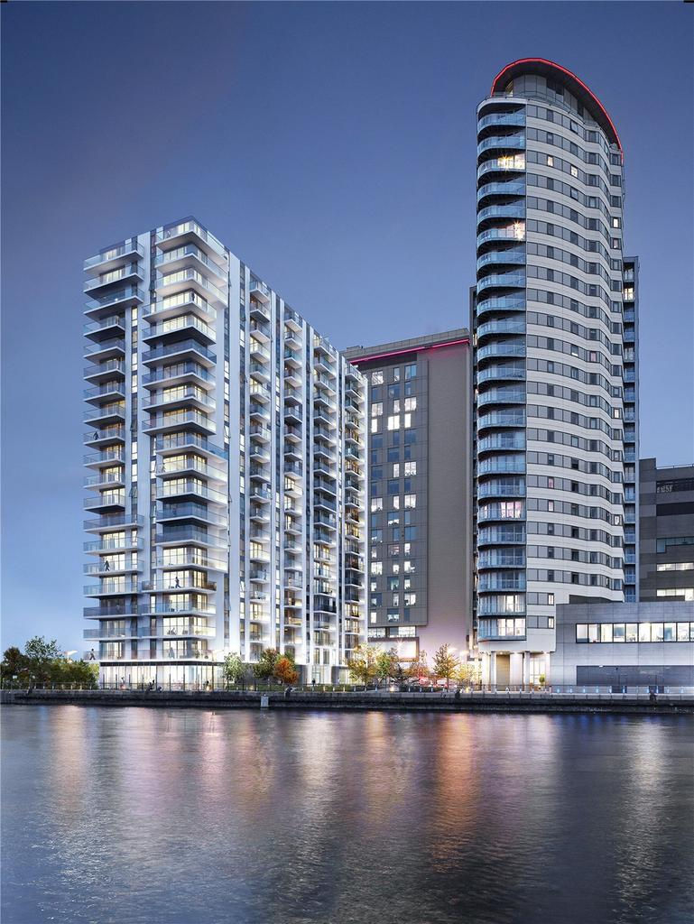 2 Bedrooms Flat for sale in Blue, Media City UK, Salford, Greater Manchester, M50