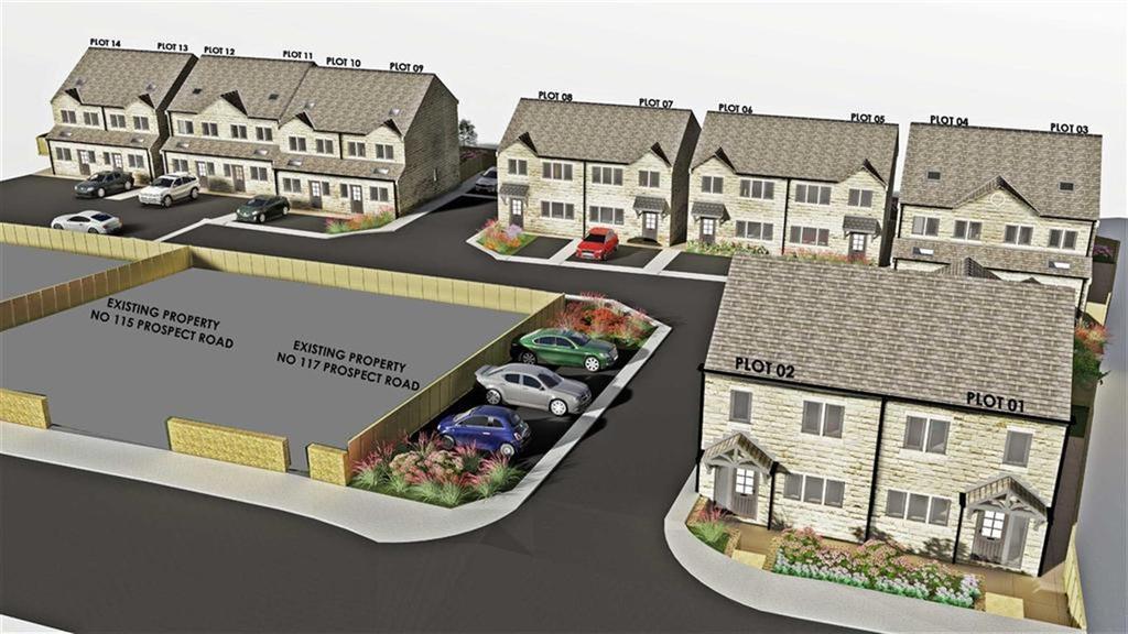 3 Bedrooms Semi Detached House for sale in 2, Longwood, Huddersfield, HD3