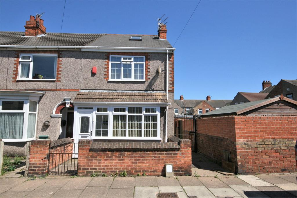 2 Bedrooms End Of Terrace House for sale in Lawrence Street, Grimsby, DN31