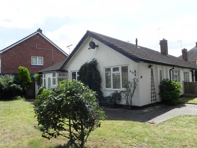 2 Bedrooms Semi Detached Bungalow for sale in Lawrence Drive,Minworth,Sutton Coldfield