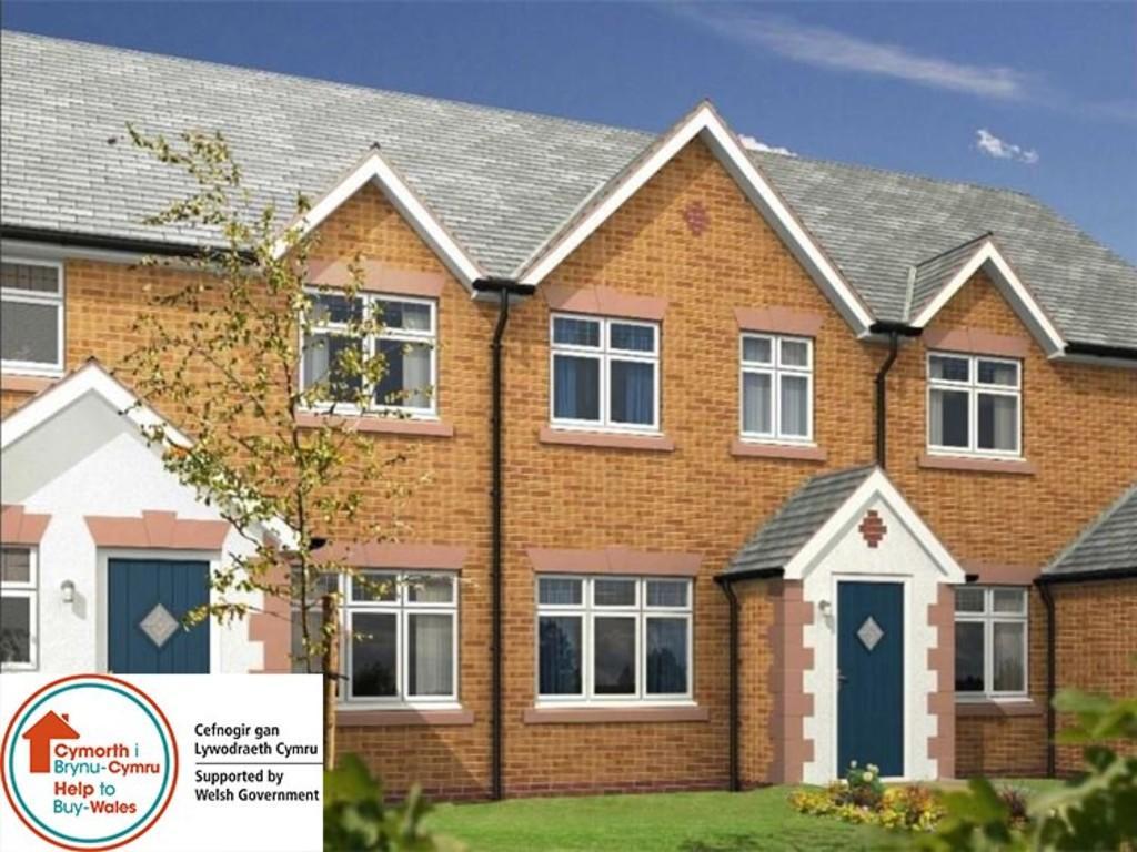 2 Bedrooms Semi Detached House for sale in Gwel Y Llan, Caernarfon, North Wales