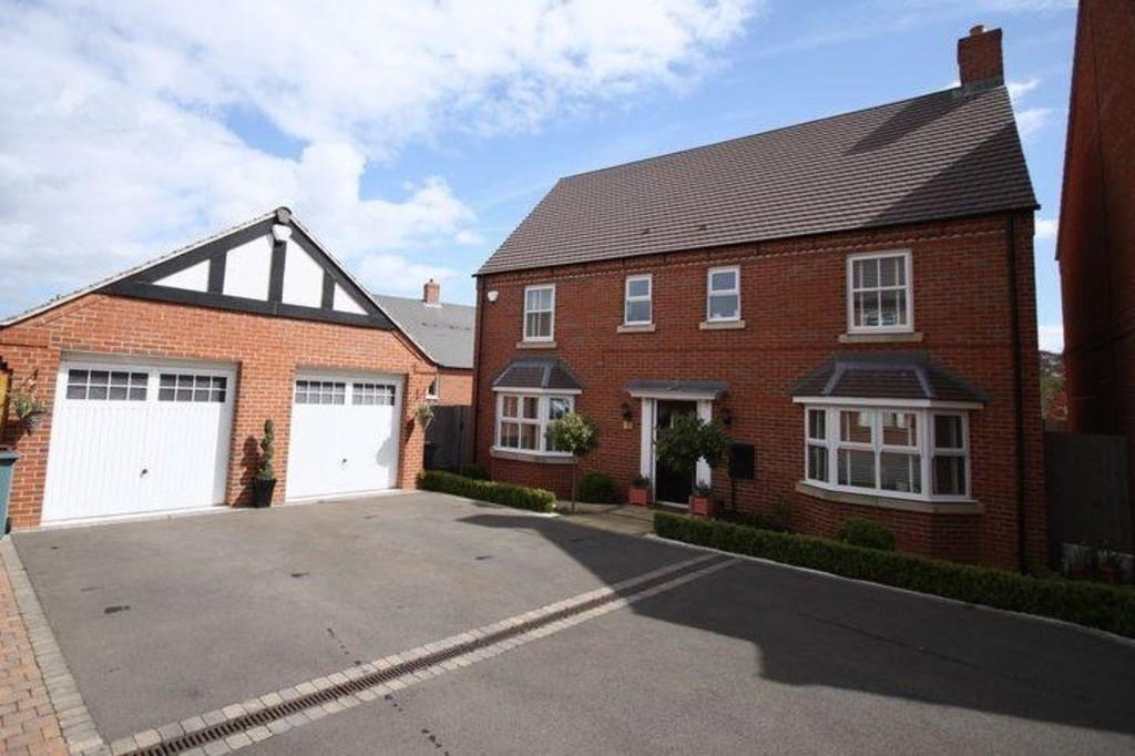 4 Bedrooms Detached House for sale in Spitfire Road, Castle Donington