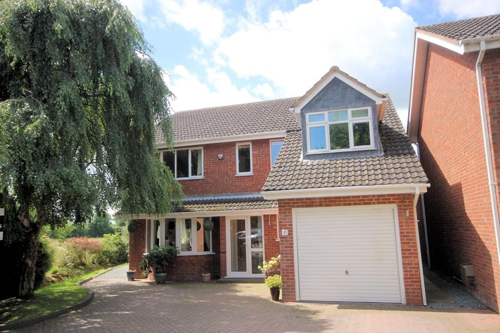 4 Bedrooms Detached House for sale in Bishops Cleeve, Austrey