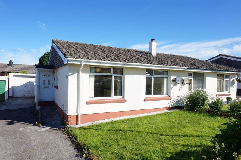 2 Bedrooms Semi Detached Bungalow for sale in Dennis Gardens, Tregadillett, Launceston