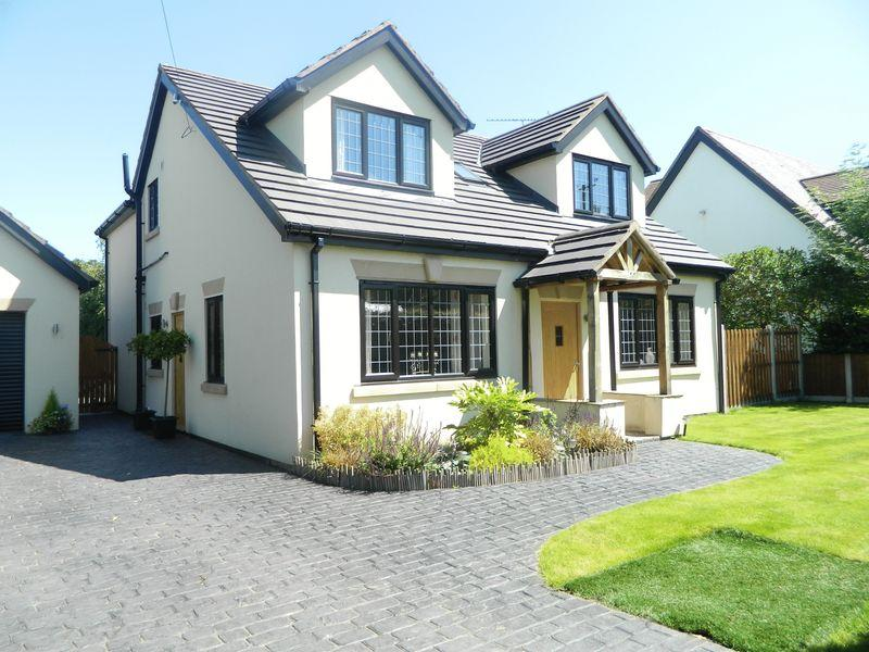 3 Bedrooms Detached House for sale in Glengarrie, Plant Lane, Sandbach