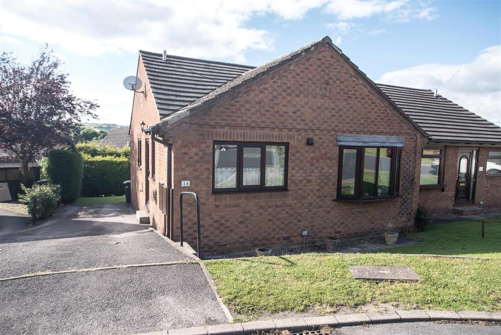 2 Bedrooms Semi Detached Bungalow for sale in Ings Mill Drive, Clayton West, Huddersfield, HD8 9PW