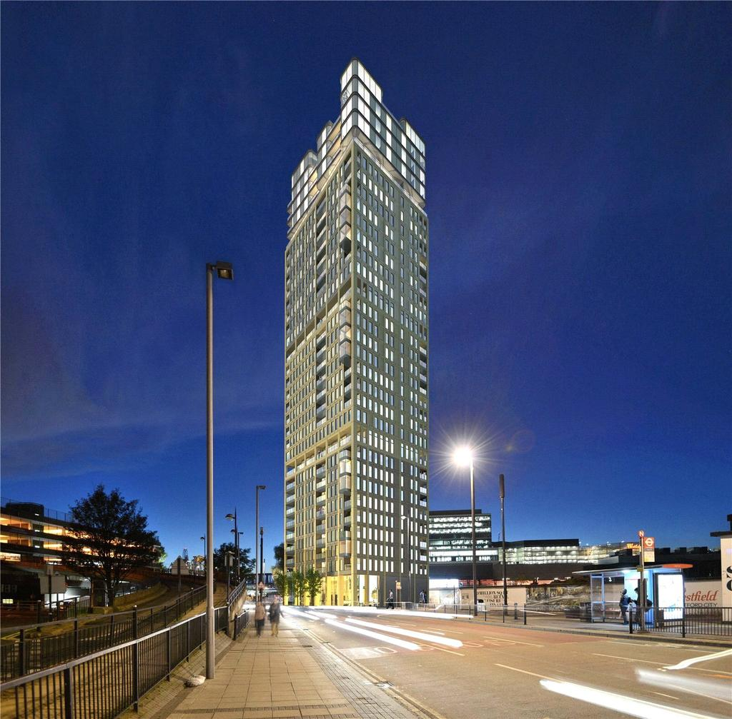 2 Bedrooms Flat for sale in Stratford Central, Stratford City, London