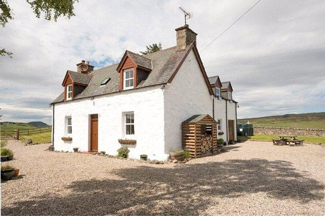 4 Bedrooms Detached House for sale in Banscol Cottage - Lot 1, Banscol Cottage, The Land Bothy, 38 Banscol, Rogart, Highland, IV28