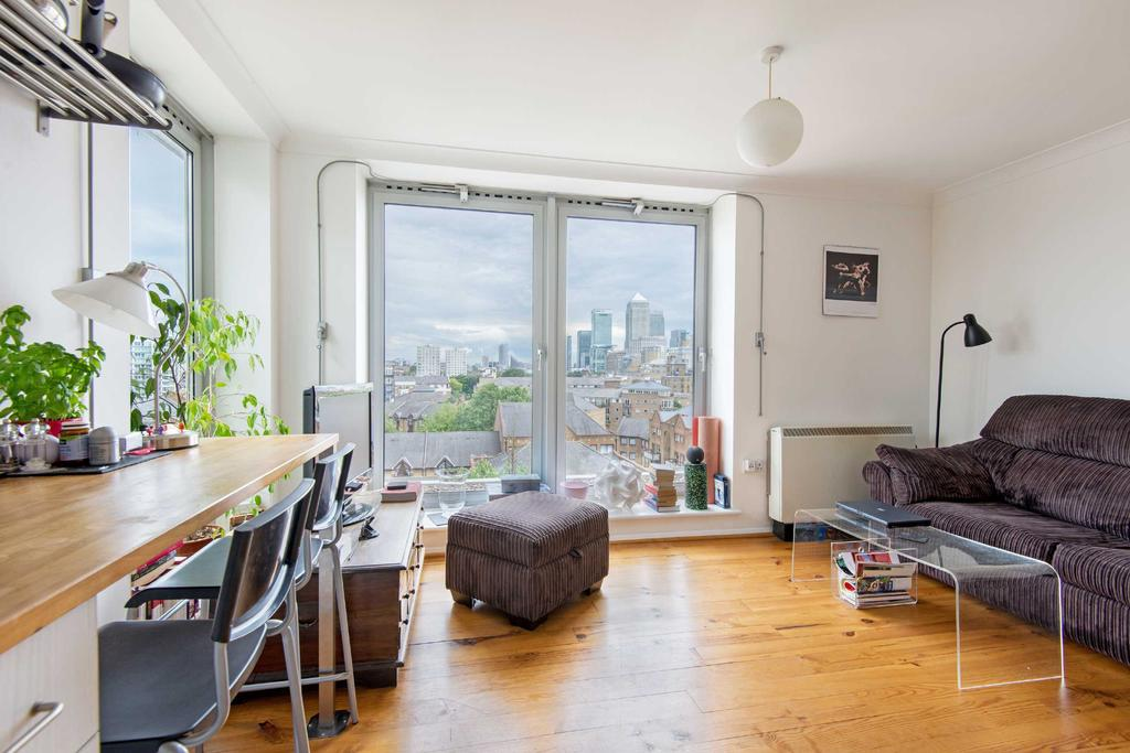 1 Bedroom Penthouse Flat for sale in Horseferry Road, E14
