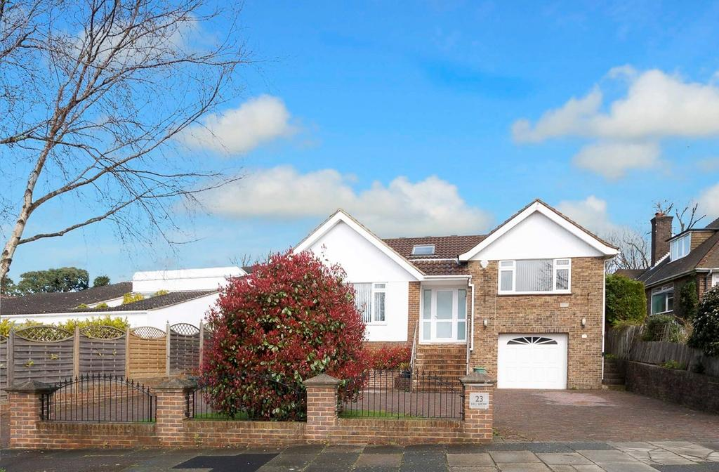 4 Bedrooms Detached House for sale in Hill Brow, Hove, BN3