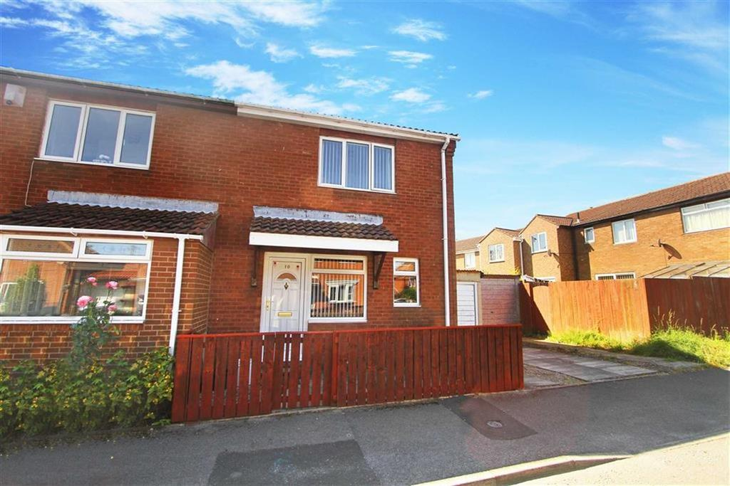 2 Bedrooms Semi Detached House for sale in Stretton Way, Backworth, Tyne And Wear
