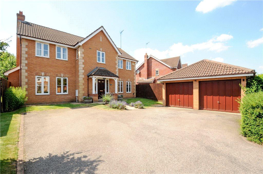 5 Bedrooms Detached House for sale in Samwell Way, Hunsbury Meadows, Northamptonshire