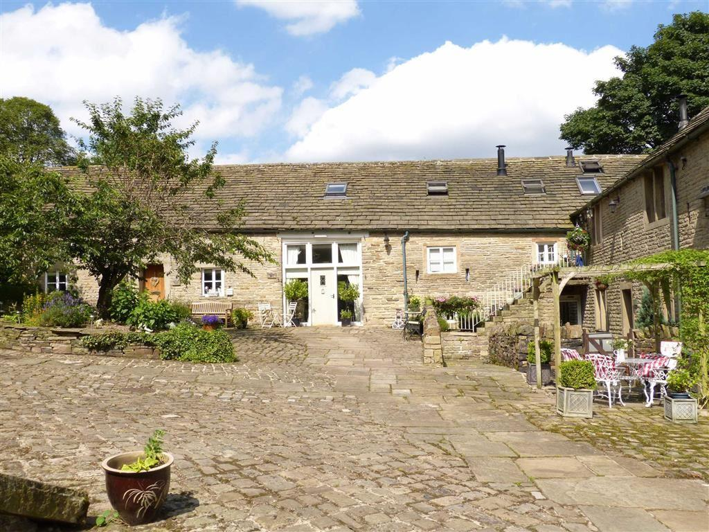 4 Bedrooms Barn Conversion Character Property for sale in Hollingworth Hall Farm, Mottram, Via Hyde