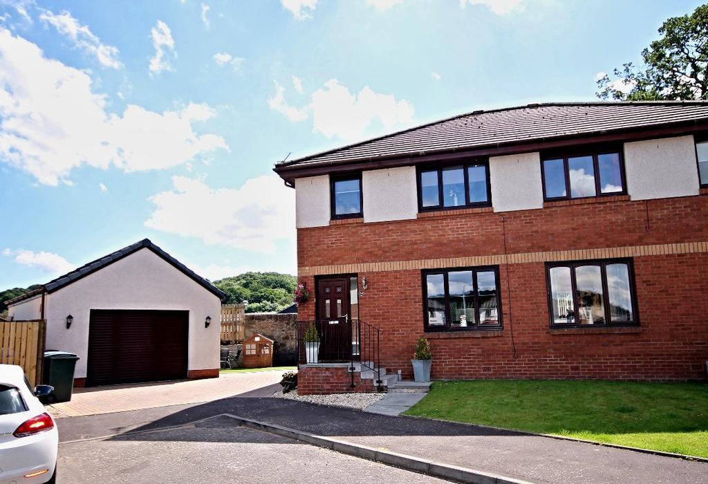 3 Bedrooms Semi-detached Villa House for sale in Harperbank Grove, Cumnock, East Ayrshire, KA18 1EN