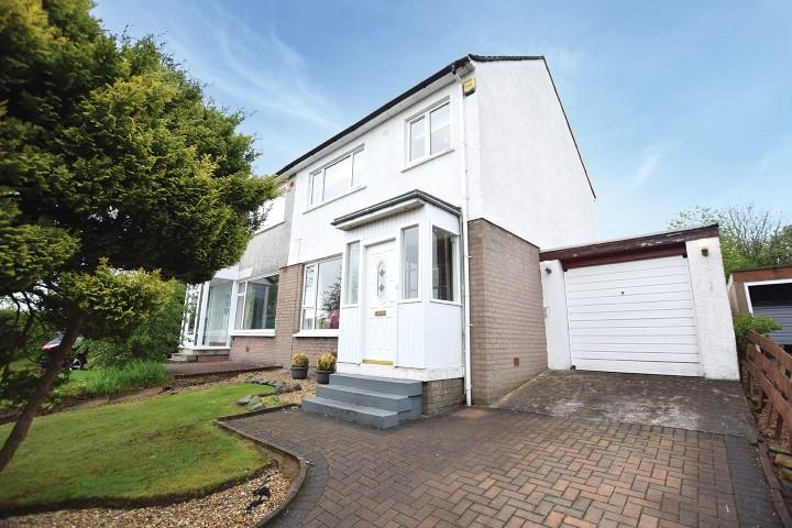 3 Bedrooms Semi Detached House for sale in 70 Breadie Drive, Milngavie, G62 6LT