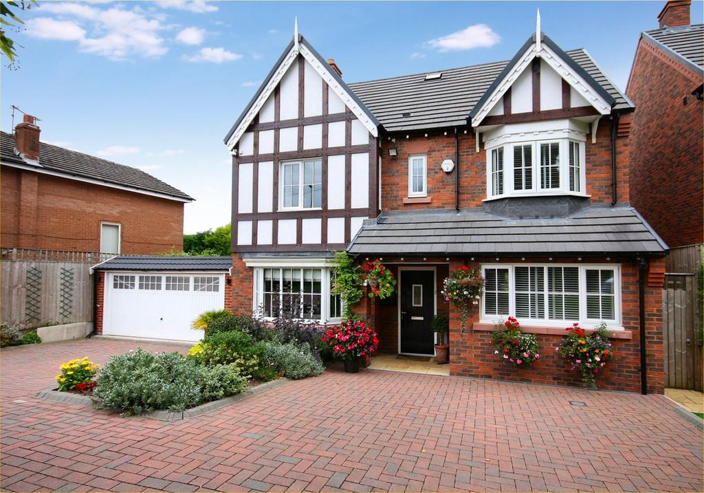 5 Bedrooms Detached House for sale in Turing Drive, Wilmslow