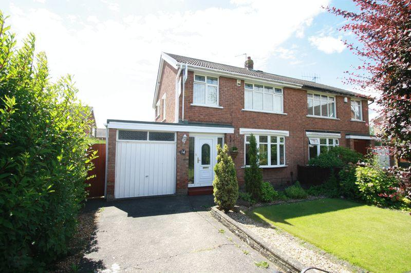 3 Bedrooms Semi Detached House for sale in Muker Grove, Fairfield, Stockton, TS19 7RL