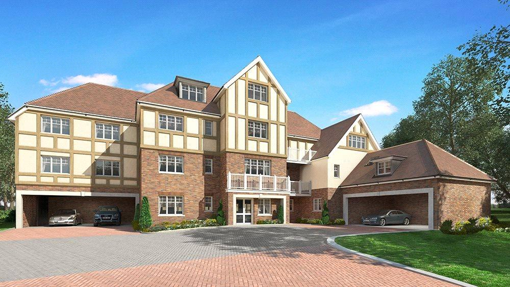 2 Bedrooms Penthouse Flat for sale in High Peak, London Road, Sunningdale, Berkshire, SL5