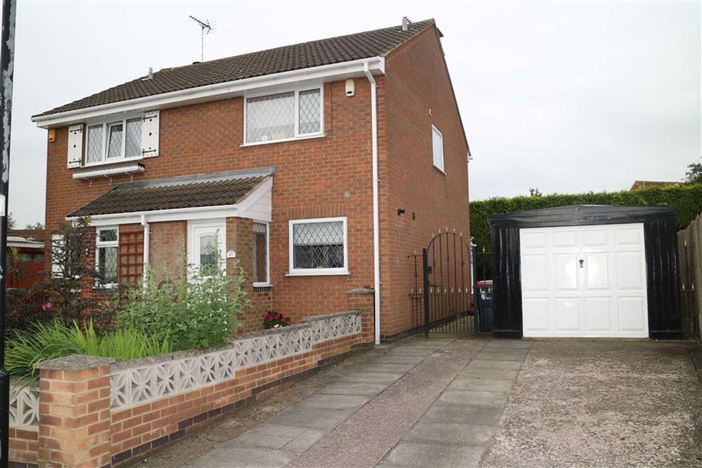 2 Bedrooms Semi Detached House for sale in Bramley Court, Sutton In Ashfield, Notts, NG17