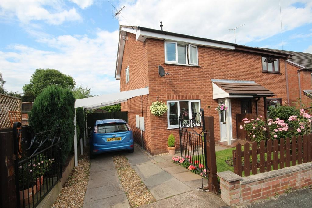 2 Bedrooms Semi Detached House for sale in King Edward Street, Cheadle, Staffordshire