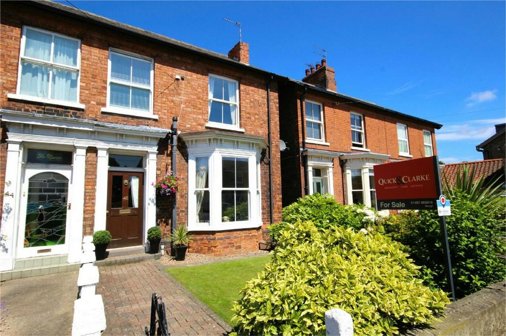 3 Bedrooms Semi Detached House for sale in Westgate, North Cave, East Riding of Yorkshire
