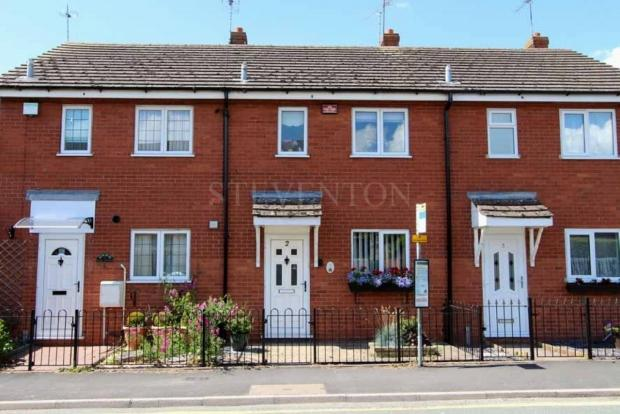 2 Bedrooms Terraced House for sale in THE MALTINGS BREWOOD ROAD COVEN WOLVERHAMPTON