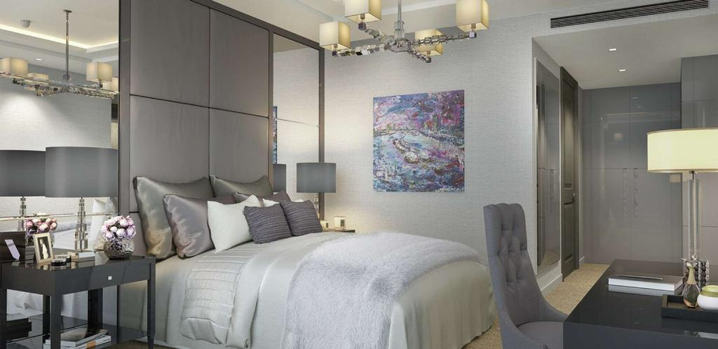 3 Bedrooms Flat for sale in Kensington High Street, Wolfe House