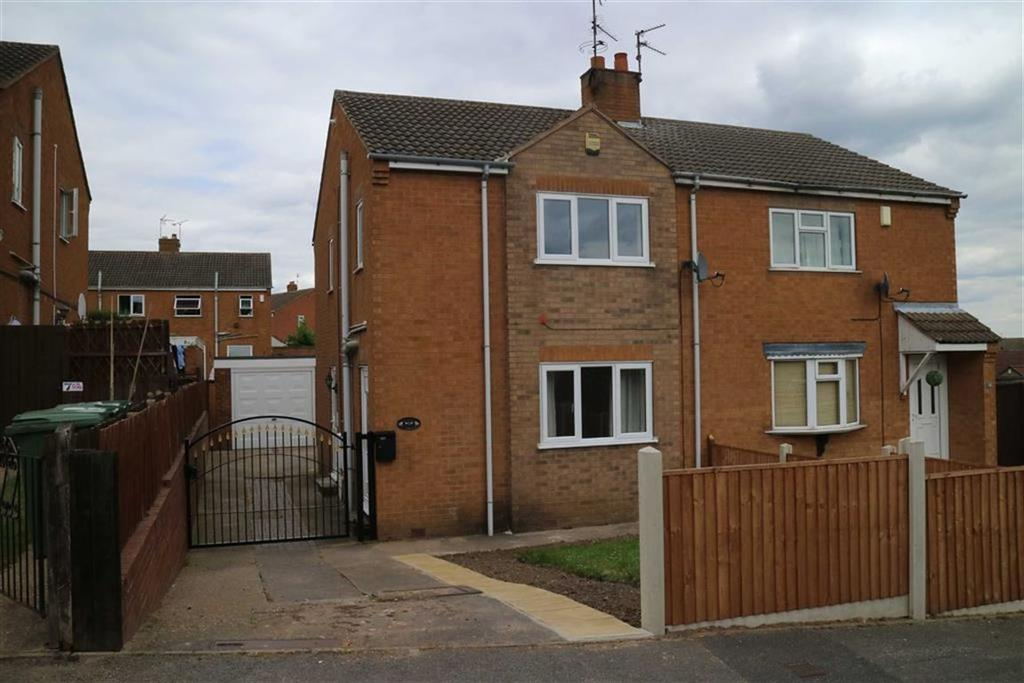 3 Bedrooms Semi Detached House for sale in Romsey Place, Mansfield, Notts, NG19