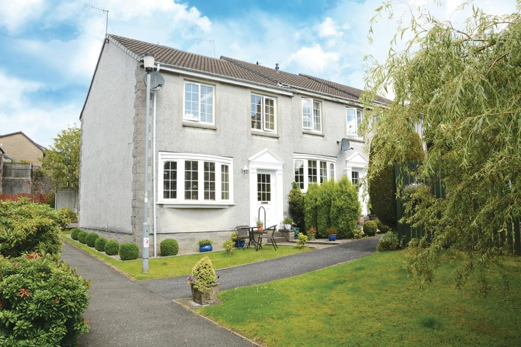 3 Bedrooms End Of Terrace House for sale in 2 Glenburn Road, Kilmacolm, PA13 4DN