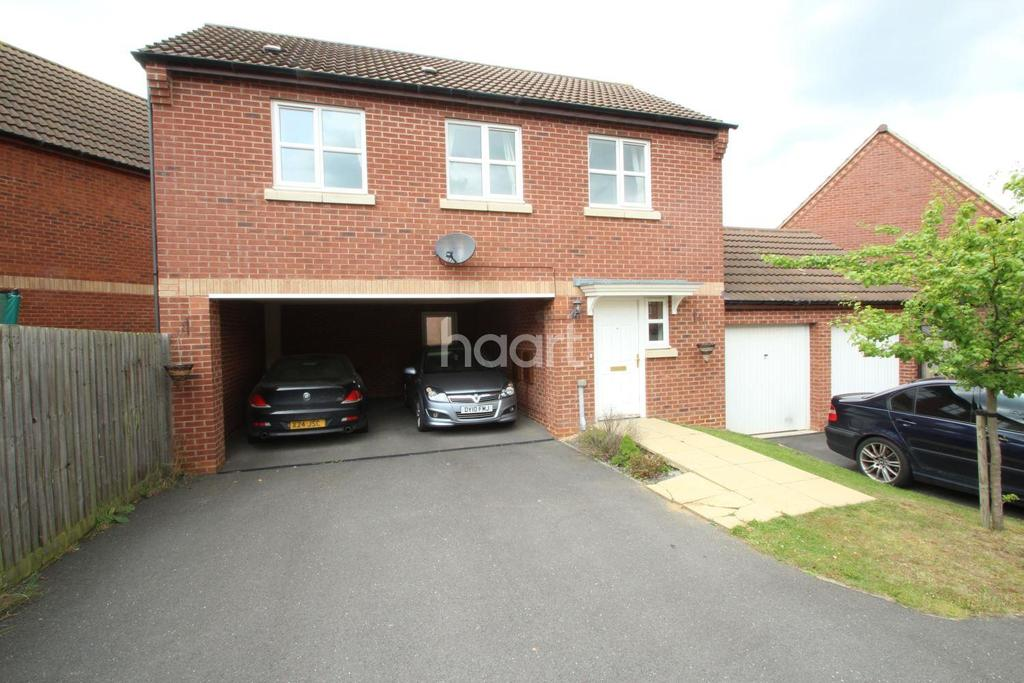 2 Bedrooms Detached House for sale in Heritage Way, Hamilton, Leicester