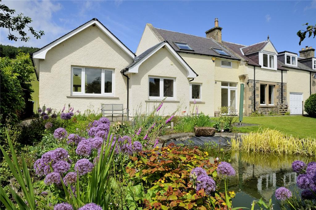 4 Bedrooms Semi Detached House for sale in The West Coach House, Manorhill, Selkirk, Scottish Borders