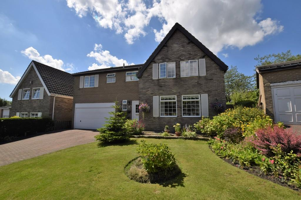 4 Bedrooms Detached House for sale in The Hayricks, Tanfield Village, Stanley