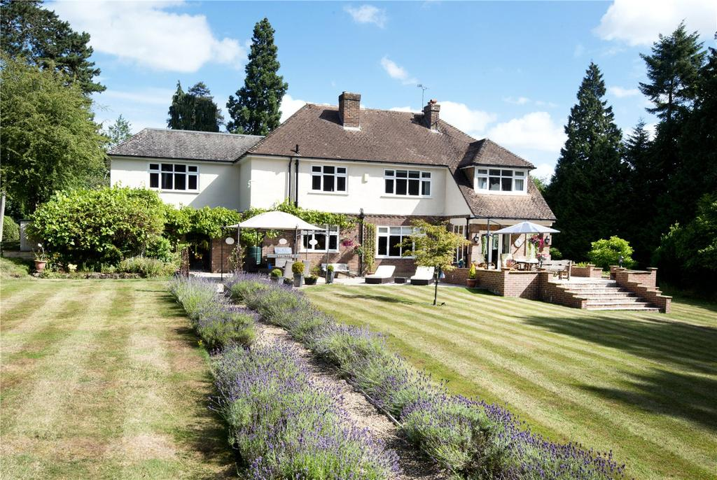 5 Bedrooms Detached House for sale in Oldbury Lane, Ightham, Sevenoaks, Kent, TN15