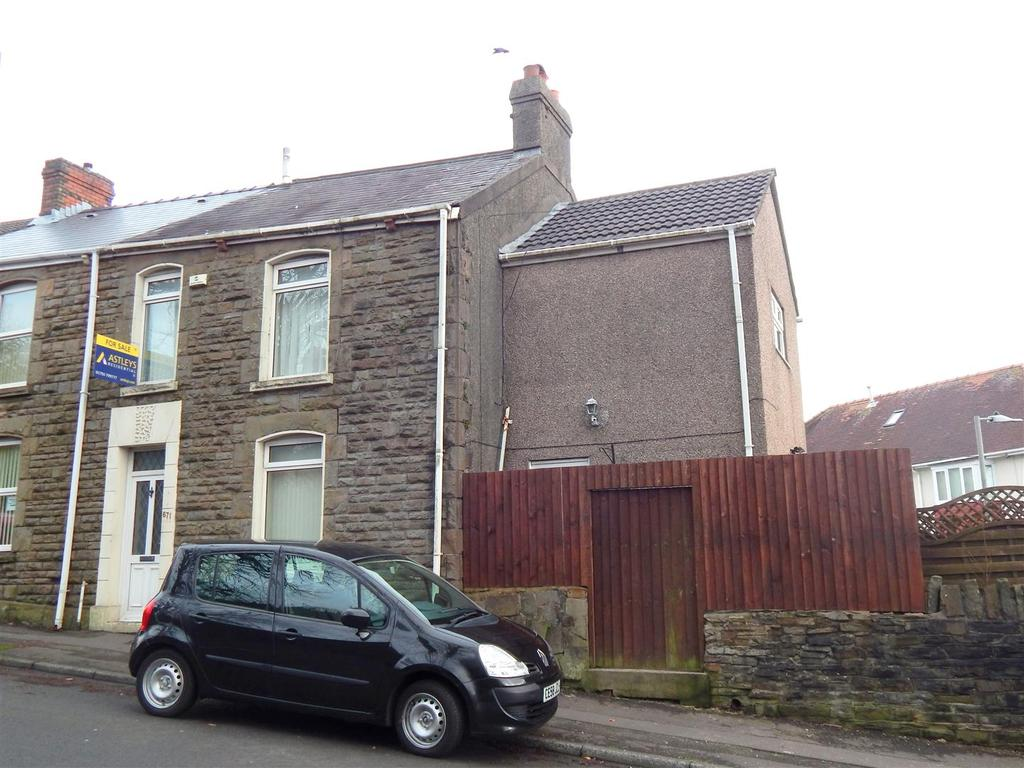 3 Bedrooms End Of Terrace House for sale in Llangyfelach Road, Treboeth, Swansea
