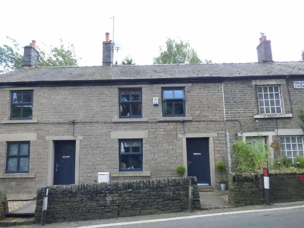3 Bedrooms Terraced House for sale in Marple Road, Chisworth, Glossop, Derbyshire, SK13